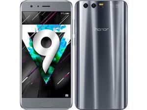 Honor 9 Dual-SIM 64GB ROM + 4GB RAM (GSM Only   No CDMA) Factory Unlocked 4G/LTE Smartphone (Gray) - International Version