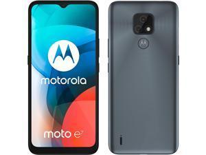 Motorola Moto E7 Dual-SIM 32GB ROM + 2GB RAM (GSM Only | No CDMA) Factory Unlocked 4G/LTE Smartphone (Mineral Grey) - International Version