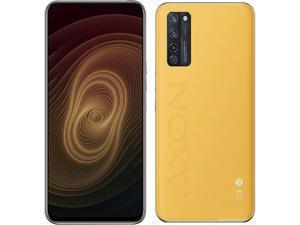 ZTE Axon 20 5G Dual-SIM 128GB ROM + 8GB RAM (GSM Only | No CDMA) Factory Unlocked Android Smartphone (Sunrise Yellow) - International Version