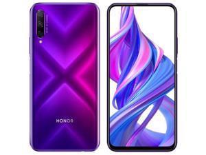 Honor 9X Pro Dual-SIM 256GB ROM + 6GB RAM (GSM   CDMA) Factory Unlocked 4G/LTE Smartphone (Purple) - International Version