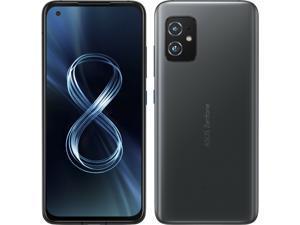 Asus Zenfone 8 Dual-SIM 128GB ROM + 8GB RAM (GSM Only | No CDMA) Factory Unlocked 5G Smartphon (Obsidian Black) - International Version