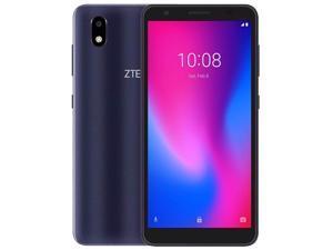 ZTE Blade A3 (2020) Dual-SIM 32GB ROM + 1GB RAM (GSM Only | No CDMA) Factory Unlocked 4G/LTE Smartphone (Dark Gray) - International Version