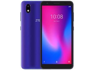 ZTE Blade A3 (2020) Dual-SIM 32GB ROM + 1GB RAM (GSM Only | No CDMA) Factory Unlocked 4G/LTE Smartphone (Purple) - International Version
