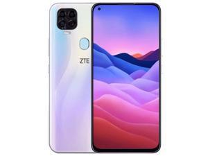ZTE Blade V2020 Dual-SIM 128GB ROM + 4GB RAM (GSM Only | No CDMA) Factory Unlocked 4G/LTE Smartphone (White) - International Version