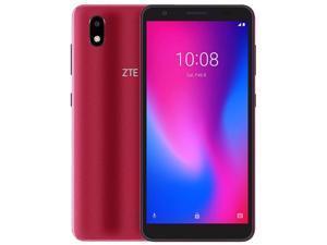 ZTE Blade A3 (2020) Dual-SIM 32GB ROM + 1GB RAM (GSM Only | No CDMA) Factory Unlocked 4G/LTE Smartphone (Red) - International Version