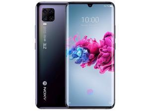 ZTE Axon 11 Dual-SIM 128GB ROM + 6GB RAM (GSM Only | No CDMA) Factory Unlocked 5G Smartphone (Black) - International Version