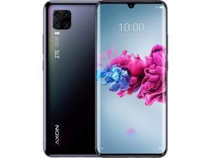 ZTE Axon 11 Dual-SIM 128GB ROM + 6GB RAM (GSM Only | No CDMA) Factory Unlocked 4G/LTE Smartphone (Black) - International Version