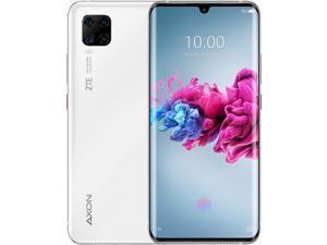 ZTE Axon 11 Dual-SIM 128GB ROM + 6GB RAM (GSM Only | No CDMA) Factory Unlocked 4G/LTE Smartphone (White) - International Version