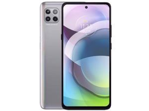Motorola Moto G 5G Dual-SIM 128GB ROM + 6GB RAM (GSM Only | No CDMA) Factory Unlocked Android Smartphone (Frosted Silver) - International Version