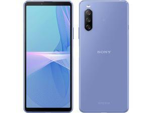 Sony Xperia 10 III Dual-SIM 128GB ROM + 6GB RAM (GSM Only   No CDMA) Factory Unlocked 5G Android Smartphone (Blue) - International Version