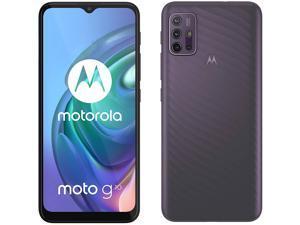Motorola Moto G10 Dual-SIM 128GB ROM + 4GB RAM (GSM Only | No CDMA) Factory Unlocked 4G/LTE Smartphone (AURORA GREY) - International Version