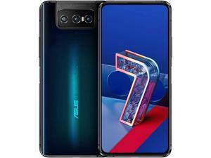 ASUS ZenFone 7 Dual-Sim 128GB ROM + 6GB RAM (GSM only | No CDMA) Factory Unlocked 5G SmartPhone (AURORA BLACK) - International Version