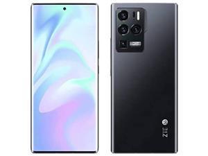 ZTE Axon 30 Ultra Dual-Sim 256GB ROM + 12GB RAM (GSM | CDMA) Factory Unlocked 5G SmartPhone (Black) - International Version