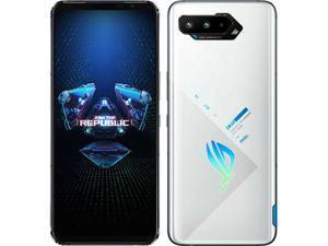 Asus ROG Phone 5 Dual-SIM 128GB ROM + 8GB RAM (Only GSM | No CDMA) Factory Unlocked 5G Smartphone (Storm White) - International Version