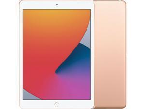 "Apple iPad 10.2 Inch (2020) Single-SIM 128GB ROM + 3GB RAM 10.2"" (Only GSM  | No CDMA) Factory Unlocked 4G/LTE + Wi-Fi Tablet (Gold) - International Version"