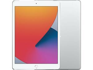 "Apple iPad 10.2 Inch 7th Gen (2019) Single-SIM 128GB ROM + 3GB RAM 10.2"" (GSM | CDMA) Factory Unlocked 4G/LTE + Wi-Fi Tablet (Silver) - International Version"