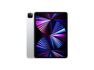 "Apple iPad Pro (2021) Single-SIM 128GB ROM + 8GB RAM 11"" (GSM   CDMA) Factory Unlocked 5G + WIFI Tablet (Silver) - International Version"