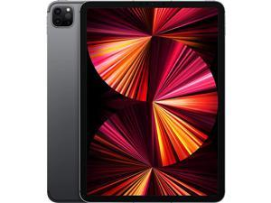 "Apple iPad Pro (2021) Single-SIM 128GB ROM + 8GB RAM 11"" (GSM | CDMA) Factory Unlocked 5G + WIFI Tablet (Space Grey) - International Version"