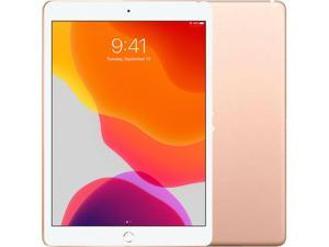 "Apple IPad 10.2 Inch 7th Gen (2019) 32GB ROM  + 3GB RAM 10.2"" Factory Unlocked Wi-Fi Only Tablet (Gold) - International Version"