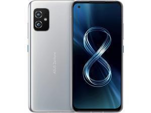 Asus Zenfone 8 Dual-SIM 256GB ROM + 16GB RAM (GSM Only | No CDMA) Factory Unlocked 5G Smartphone (Horizon Silver) - International Version