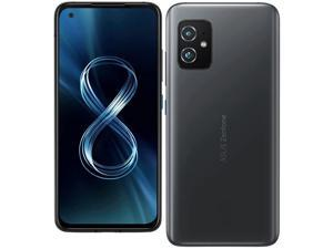 Asus Zenfone 8 Dual-SIM 256GB ROM + 12GB RAM (GSM Only | No CDMA) Factory Unlocked 5G Smartphone (Obsidian Black) - International Version