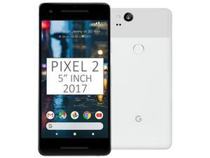 "Google Pixel 2 (2017) 128GB G011A, 5"" inch (No CDMA, GSM only) Factory Unlocked SIM-free 4G/LTE Smartphone (Clearly White)"