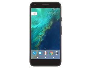 """Pixel (2016) by Google, 5"""" inch 32GB G-2PW4200 (No CDMA, GSM only) Factory Unlocked SIM-free 4G/LTE Smartphone (Quite Black)"""