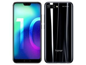 Honor 10 Dual-SIM COL-L29 64GB (No CDMA, GSM only) Factory Unlocked 4G /LTE Smartphone - Midnight Black
