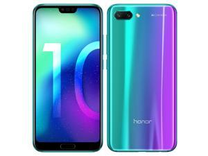 Honor 10 Dual-SIM COL-L29 64GB (No CDMA, GSM only) Factory Unlocked 4G /LTE Smartphone - Phantom Green