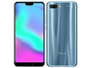 Honor 10 Dual-SIM COL-L29 64GB (No CDMA, GSM only) Factory Unlocked 4G /LTE Smartphone - Glacier Grey