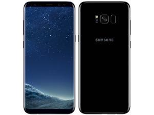 Samsung Galaxy S8+ Plus Single-SIM 64GB (No CDMA, GSM only) Factory Unlocked 4G Smartphone - Midnight Black