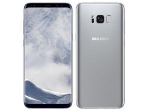 Samsung Galaxy S8+ Plus Single-SIM 64GB (No CDMA, GSM only) Factory Unlocked 4G Smartphone - Arctic Silver