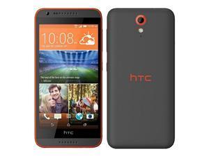 HTC Desire 620G 8GB (No CDMA, GSM only) Factory Unlocked 3G Smartphone - Matte Grey/Orange Trim