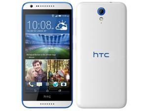 HTC Desire 620G 8GB (No CDMA, GSM only) Factory Unlocked 3G Smartphone - White/Blue Trim
