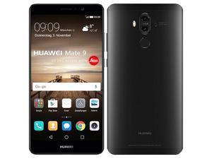 Huawei Mate 9 Dual-SIM 64GB (No CDMA, GSM only) Factory Unlocked 4G/LTE Smartphone - Black