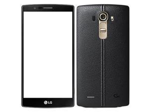 LG G4 H815 32GB (No CDMA, GSM only) Factory Unlocked 4G/LTE Smartphone - Black Leather