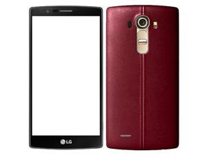 LG G4 H815 32GB (No CDMA, GSM only) Factory Unlocked 4G/LTE Smartphone - Red Leather