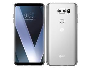 LG V30 H930 64GB (No CDMA, GSM only) Factory Unlocked 4G/LTE Smartphone - Cloud Silver