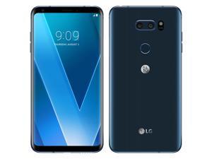 LG V30 H930 64GB (No CDMA, GSM only) Factory Unlocked 4G/LTE Smartphone - Moroccan Blue