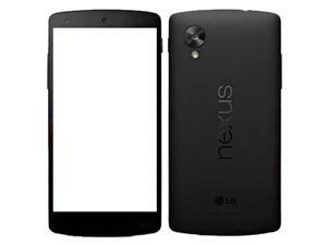 LG Google Nexus 5 D821 32GB (No CDMA, GSM only) Factory Unlocked 4G/LTE Smartphone - Black