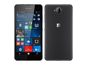 Microsoft Lumia 650 16GB (No CDMA, GSM only) Factory Unlocked 4G/LTE Smartphone - Black