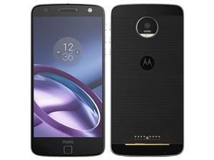 Motorola Moto Z XT1650-03 32GB (No CDMA, GSM only) Factory Unlocked 4G/LTE Smartphone - Black/Silver
