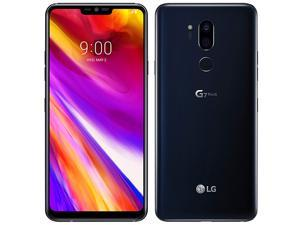 LG G7 ThinQ 64GB G710EM (No CDMA, GSM only) Factory Unlocked 4G/LTE Smartphone - Aurora Black