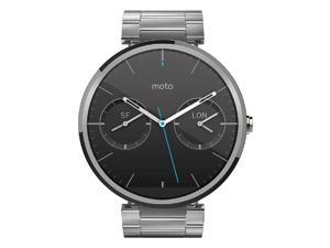 Motorola Moto 360 23mm for Android and iphone Smartwatch - Light Metal