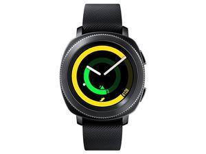Samsung Gear Sport SM-R600 Bluetooth 4GB with Silicone Strap Smartwatch - Black