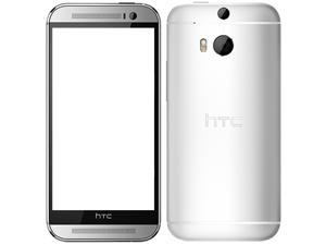 HTC One M8 16GB (No CDMA, GSM only) Factory Unlocked 4G/LTE Smartphone - Glacial Silver