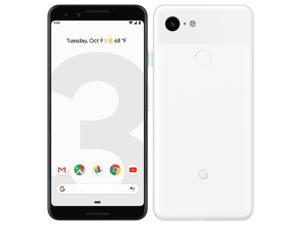 Google Pixel 3 XL G013C (2018) 128GB (No CDMA, GSM only) Factory Unlocked 4G/LTE Smartphone - Clearly White