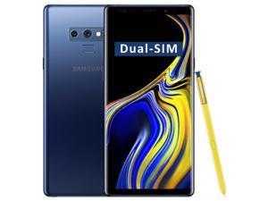 Samsung Galaxy Note9 SM-N960F/DS Dual-SIM 512GB (No CDMA, GSM only) Factory Unlocked 4G/LTE Smartphone - (Ocean Blue)