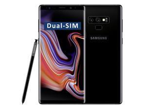 Samsung Galaxy Note9 SM-N960F/DS Dual-SIM 512GB (No CDMA, GSM only) Factory Unlocked 4G/LTE Smartphone - (Midnight Black)
