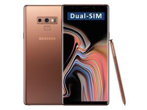 Samsung Galaxy Note9 SM-N960F/DS Dual-SIM 512GB (No CDMA, GSM only) Factory Unlocked 4G/LTE Smartphone - (Copper Gold)
